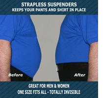 strapless suspenders
